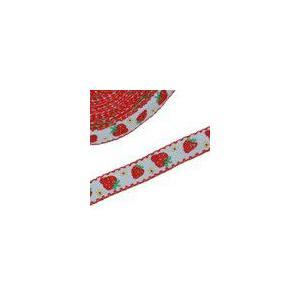 2果物のチロルテープ 幅14mm  ホワイト(5ヤード) yu-beads-parts