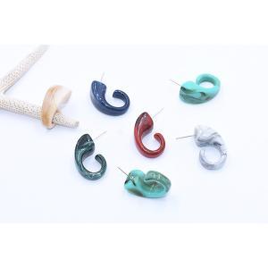 アクリルピアス デザイン 14×28mm【10ヶ】|yu-beads-parts|05