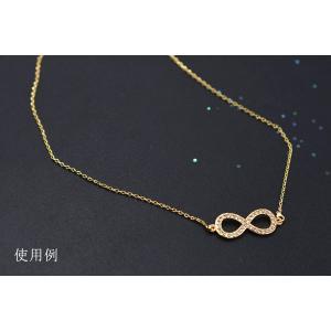 高品質ネックレス チェーン 18Kゴールドメッキ【1ヶ】|yu-beads-parts|03