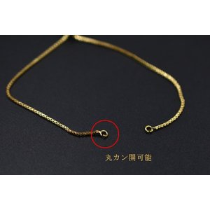高品質ネックレス チェーン 18Kゴールドメッキ【1ヶ】|yu-beads-parts|05