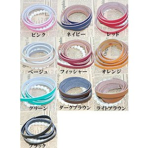 本革テープ yu-beads-parts