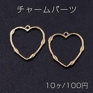 エンドパーツ 三角形 1カン 17×20mm ゴールド【10ヶ】 yu-beads-parts