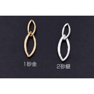 チャームパーツ ホースアイチェーン 7×28mm【10ヶ】|yu-beads-parts|02
