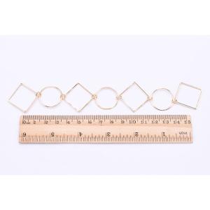 チェーンパーツ 丸・四角 3×19cm ゴールド【5ヶ】 yu-beads-parts 06