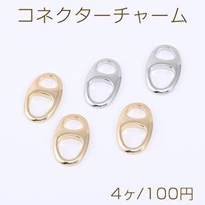 ミール皿 長方形 金属チャームフレーム ゴールド【10ヶ】|yu-beads-parts