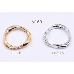 チャームパーツ  丸フレーム ツイスト 20×21mm【10ヶ】 yu-beads-parts 02
