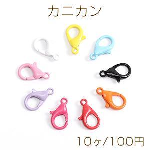 ピアス金具 フラワー カン付き 13×11mm ゴールド【4ヶ】 yu-beads-parts