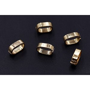 チェーンパーツ オーバル 7×10mm ゴールド【20ヶ】|yu-beads-parts|02