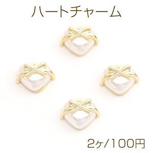 チタンピアス金具 オーバルフープ 14×30mm ゴールド【4ヶ】