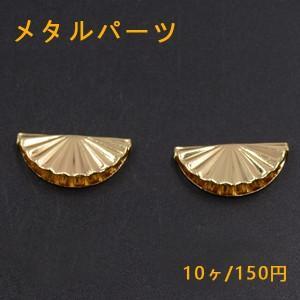 メタルパーツ 貝殻 横穴 ゴールド【10ヶ】1大|yu-beads-parts