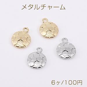 ピアス金具 フラワー アクリルストーン カン付 ゴールド【2ヶ】 yu-beads-parts