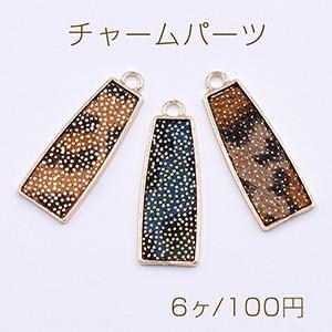 ピアス金具 猫 エポ付 ゴールド【4ヶ】 yu-beads-parts