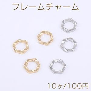ピアス金具 パールカン付 ゴールド【4ヶ】 yu-beads-parts