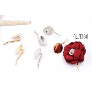 大特価 !ポニーフック ヘアアクセサリー 丸皿 18mm【10ヶ】|yu-beads-parts|05