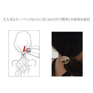 大特価 !ポニーフック ヘアアクセサリー 丸皿 18mm【10ヶ】|yu-beads-parts|06