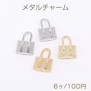 ピアス金具 ハートのミール皿 14×15mm ゴールド【10ヶ】 yu-beads-parts