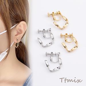 ネイルパーツ メタルパーツ ハートフレーム 7×7.6mm ゴールド【約500ヶ】|yu-beads-parts