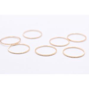 高品質フレームパーツ 丸 18mm ローレット ゴールド【10ヶ】|yu-beads-parts|04