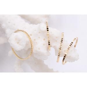 高品質フレームパーツ 丸 18mm ローレット ゴールド【10ヶ】|yu-beads-parts|05