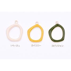 エポチャーム 不規則フレーム 19×26mm ゴールド【10ヶ】 yu-beads-parts 02