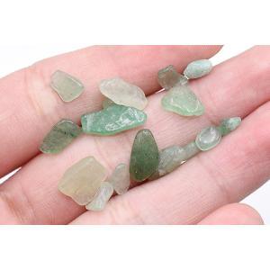 天然石さざれ 穴なしさざれ石 アベンチュリン 5-12mm【50g】 yu-beads-parts 03