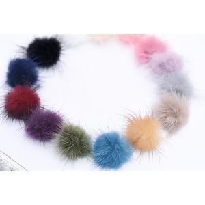 ミンクファー 天然素材 ボール 30mm 全14色【10ヶ】 yu-beads-parts 03