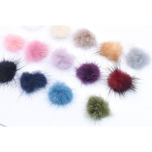 ミンクファー 天然素材 ボール 30mm 全14色【10ヶ】 yu-beads-parts 04