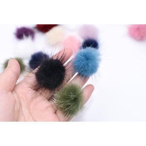ミンクファー 天然素材 ボール 30mm 全14色【10ヶ】 yu-beads-parts 06