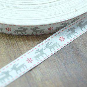 手作りテープ 模様93 幅15mm レッド/アーミーグリーン yu-beads-parts 02