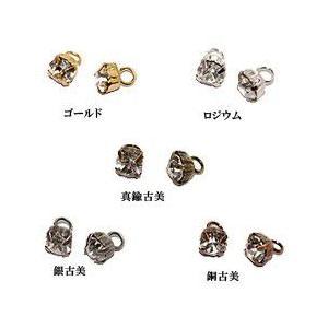 カン付セッティング クリスタル 4mm|yu-beads-parts