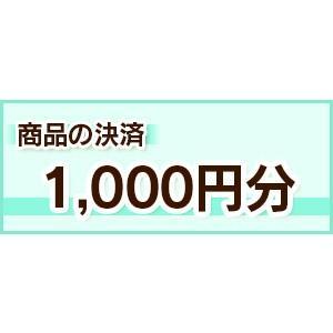 決済1000円分