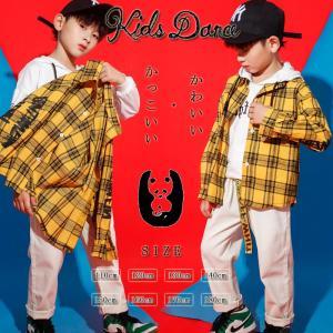 キッズダンス衣装 ヒップホップ HIPHOP キッズ ダンス衣装 子供 セットアップ トップス ズボン 長袖 男の子 女の子 練習着 体操服 ジャズダンス衣装|yu-tyann