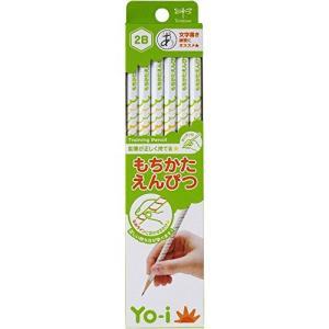 トンボ鉛筆 鉛筆 Yo-i もちかた 2B 六角軸 右手左手兼用 KE-KY02-2B 1ダース yu-yu-stoa