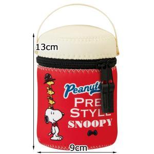 スケーター 保温ランチジャー スープジャー用カバー M スヌーピー プレッピスタイル 9cm×高さ13cm SJP1|yu-yu-stoa