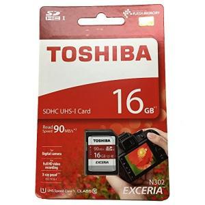 TOSHIBA 東芝 EXCERIA N302 16GB UHS-I SDHCカード 海外パッケージ THN-N302R0160A4 [並行輸入品]|yu-yu-stoa
