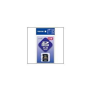 東芝コンシューママーケティング 東芝 SDカード8G SD−F08GTS|yu-yu-stoa