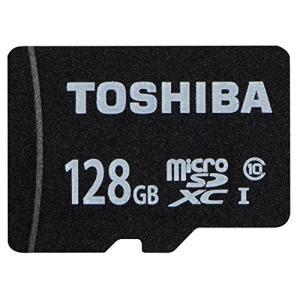 TOSHIBA microSDXCカード 128GB Class10 UHS-I対応 (最大転送速度40MB/s)  (国内正規品) MSDAR40N128G|yu-yu-stoa