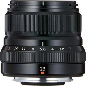 FUJIFILM 単焦点広角レンズ XF23mmF2 R WR B ブラック|yu-yu-stoa