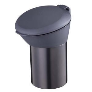 ナポレックス 車用灰皿 ビッグ缶アッシュ ドリンクホルダー型 ブラック  汎用 Fizz-899