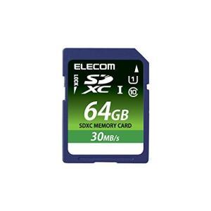 【2015年モデル】エレコム SDXCメモリカード 64GB UHS-1 U1 データ復旧サービス MF-FS064GU11LRA|yu-yu-stoa