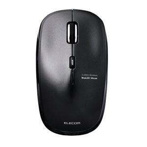エレコム ワイヤレスマウス 2.4GHz BlueLED 5ボタン 戻る・進むボタン 【ファイナルファンタジーXIV: 新生エオルゼア推奨】 ブラック M-BL21DBBK|yu-yu-stoa