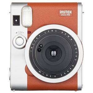 FUJIFILM インスタントカメラ チェキ instax mini 90 ネオクラシック ブラウン INSTAX MINI 90 BROWN|yu-yu-stoa