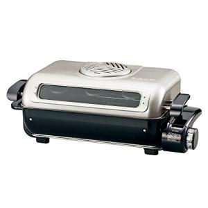 象印 フィッシュロースター 両面焼き 分解洗いプラチナ触媒フィルター EF-VG40-SA|yu-yu-stoa