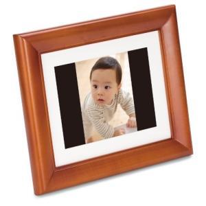 FUJIFILM デジタルフォトフレーム 7インチ 内蔵メモリー512MB 解像度800×600 オーク DP-7V|yu-yu-stoa