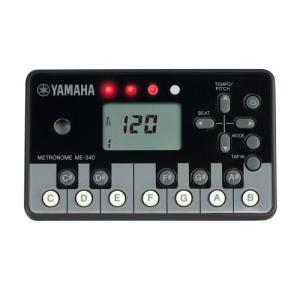 YAMAHA デジタルメトロノーム 【ピアノブラック】 ME-340PF|yu-yu-stoa