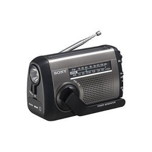 ソニー SONY ポータブルラジオ ICF-B99 : FM/AM/ワイドFM対応 手回し充電/太陽...