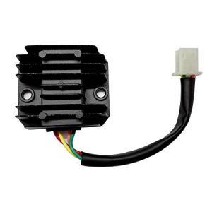 4ピン仕様 全波整流レギュレーター 汎用 交換パーツ HID 化 12V|yu-yu-stoa