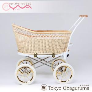 東京乳母車 プスプス スタンダード本体 (幌なし) ベビーカー 双子用 二人乗り B型 A型 新生児 ベビーベッド yua-shop