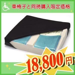 車椅子 クッション ケープ デュオジェルクッション 【車椅子と同時購入専用ページ】|yua-shop