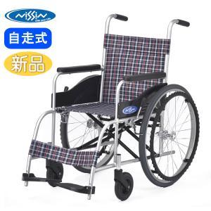 車椅子 軽量 日進医療器 NEO-0 自走用 背固定 介助ブレーキなし|yua-shop